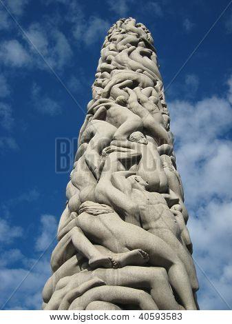 Monolith of People - Vigeland Sculpture Arrangement