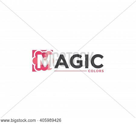 Magic Colors Company Business Modern Name Concept
