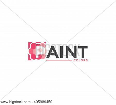 Paint Colors Company Business Modern Name Concept