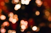Defocused abstract christmas background out of focus light spots forming a soft background poster