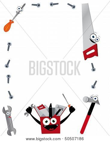Funny Tools Vertical Frame