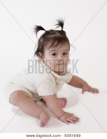 Baby Ready To Crawl