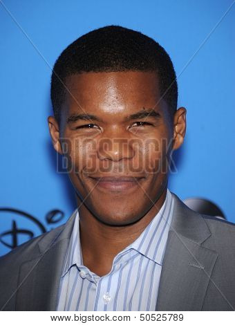 LOS ANGELES - AUG 04:  Gaius Charles arrives to ABC All Star Summer TCA Party 2013  on August 04, 2013 in Beverly Hills, CA