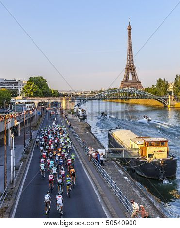 The Peloton In Paris