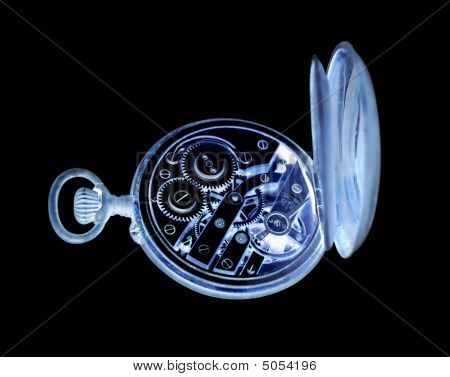 Inverted Old Watch