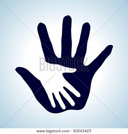 Helping hand.