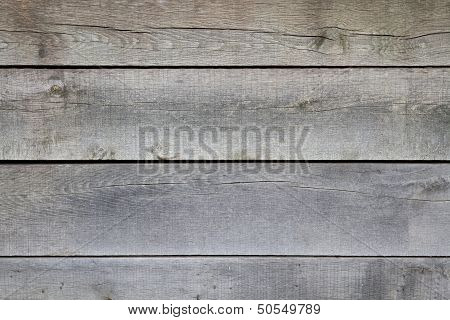 Old Wooden Horizontal Planks In Detail