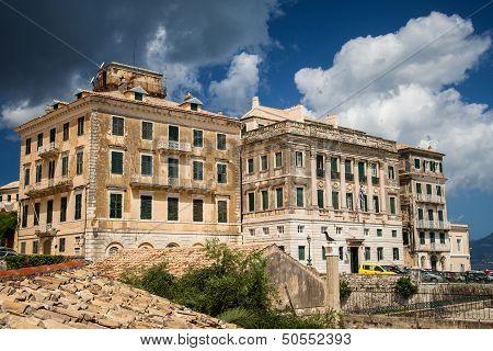 Municipal Building In Corfu, Greece