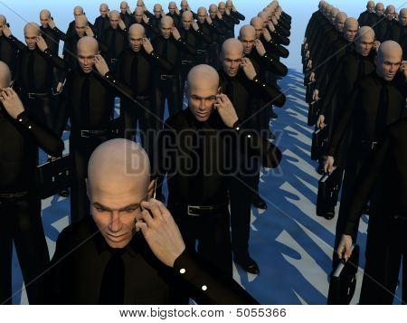 Lots Of Businessmen