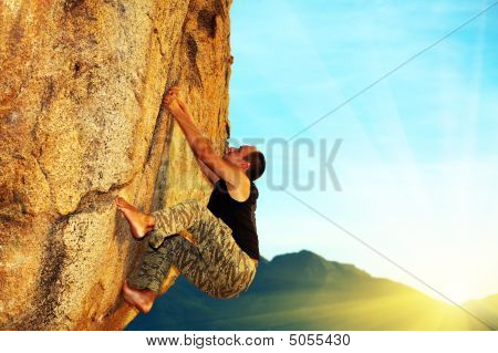 Free Solo Climbing