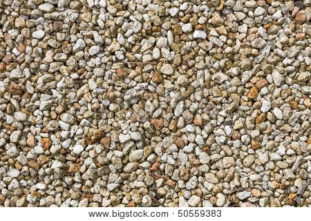 Small Brown And Yellow Pebbles