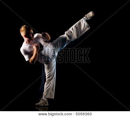High Kick Pose