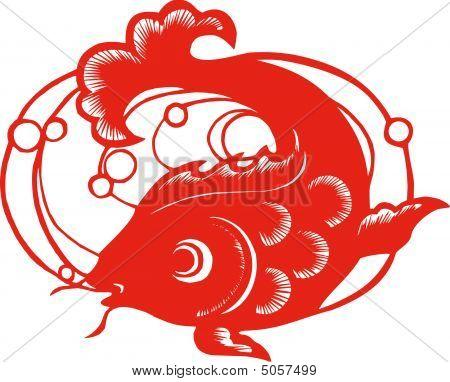 Chinese Zodiac Of  Fish