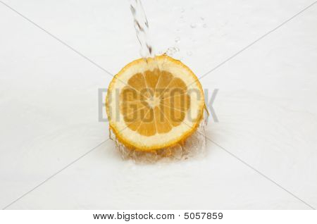 Lemon And Clean,cool Water.