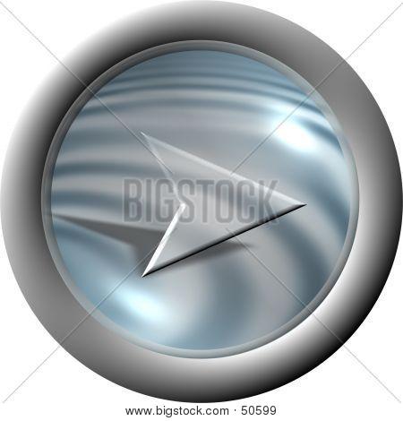 Aqua Arrow Button