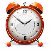 Orange Alarm clock from the Alarm Clock combo poster