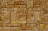 The texture of light beige stone wall poster
