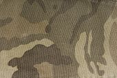 close up of the camouflage fabric texture poster