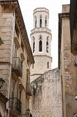 Cathedral Iglesia de Sant Pere – Figueres Spain poster