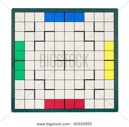 Empty Square Game Board