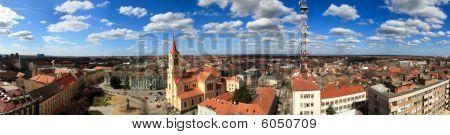 Zrenjanin City Panorama