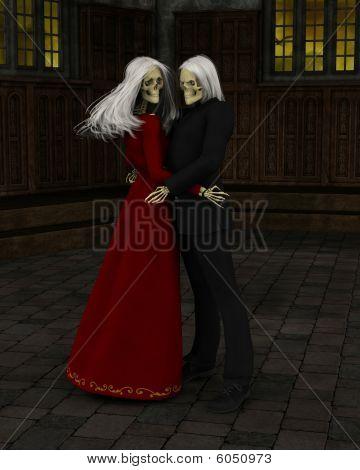 Salón de baile embrujada