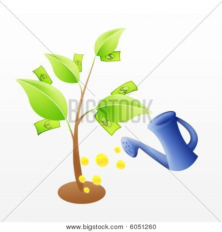 Money Tree Investition Theme