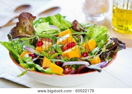 Mango And Pomegranate Salad
