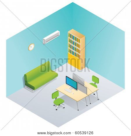 Isometric interior set 2
