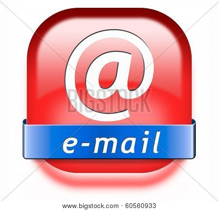 email box or mailbox icon e-mail button inbox and outbox poster