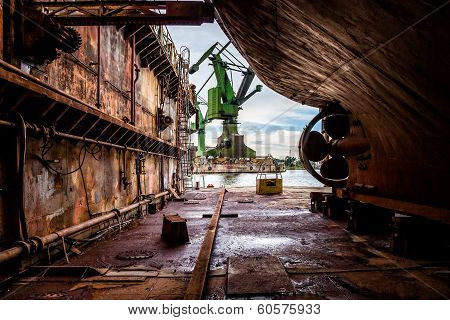 On The Dry Dock