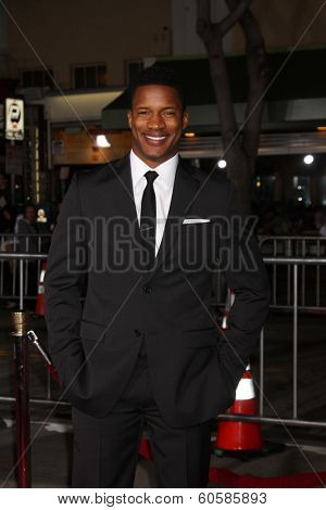 LOS ANGELES - FEB 24:  Nate Parker at the