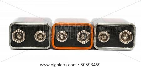 nine volt batteries