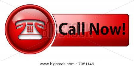 telephone icon, button