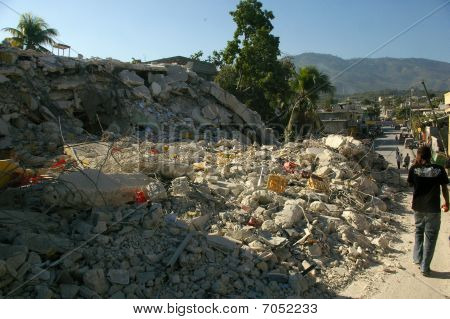 Haiti quake reaction