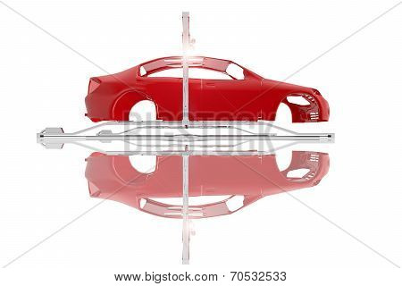 Car Industrial Assembly Line