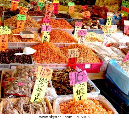 Colorful Asian Shop