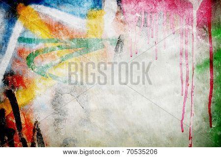 graffiti paint background