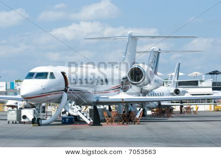 Gulfstream Business Jets At Singapore Airshow