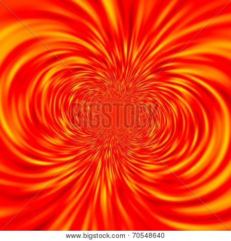 Abstract Magnetic Field Lines - Intense Magnet