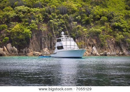Fishing Boat In The Tropics