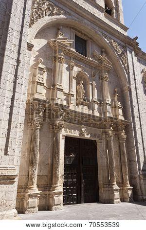 Saint Lawrence Church In Burgos
