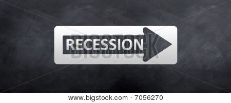Sign To Recession