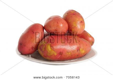 Potatoes In The Plate