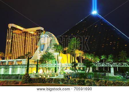 Las Vegas Boulevard In The Night