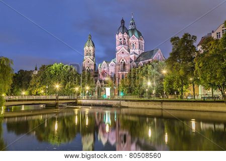 St. Luke Church, Munich
