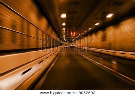 Speeding Into The Tunnel