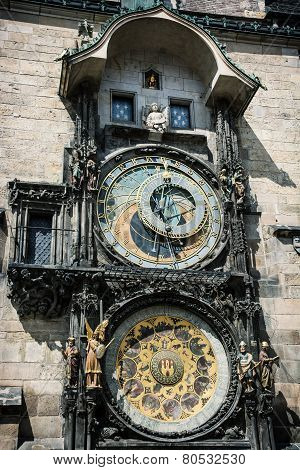 Colossal Astronomical Clock In Prague
