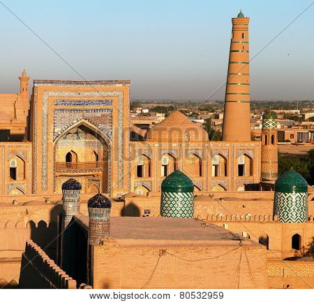 Evening View Of Khiva - Uzbekistan