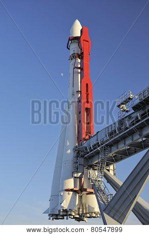 Moscow, rocket Vostok-1